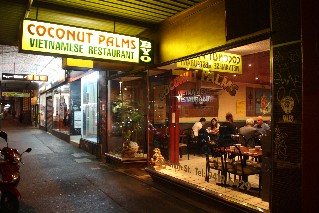 Coconut Palms Vietnamese Restaurant Collingwood