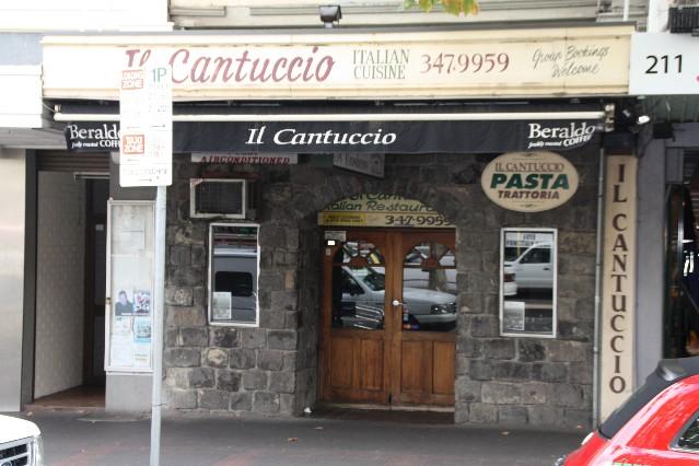Cantuccio Restaurant Melbourne