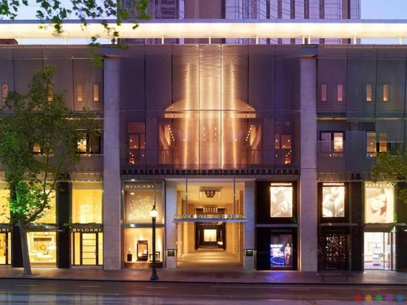 Grand Hyatt Hotel luxury hotel Melbourne CBD