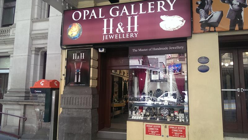 H & H Jewellery Opals Melbourne city
