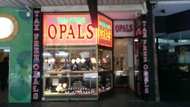 Opal Jewellery Shopping Melbourne city