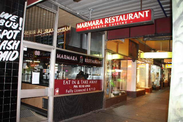 Pasha Restaurant Melbourne