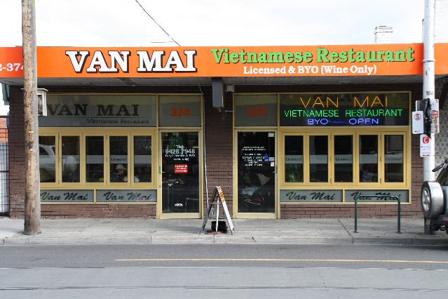 Van Mai Vietnamese Restaurant Richmond Melbourne
